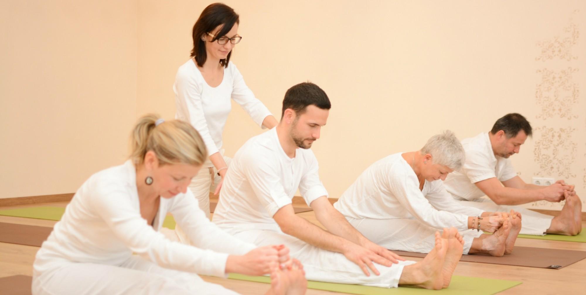 Yoga Class in English