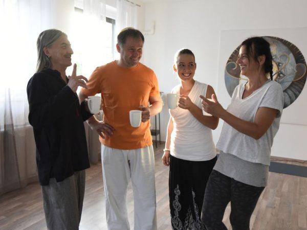 Ganésa Jóga-sziget jógaoktatói