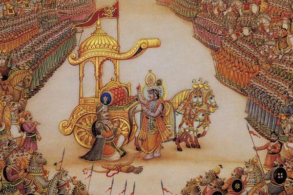 Bhagavad Gítá - Krisna tanítja Arjunát