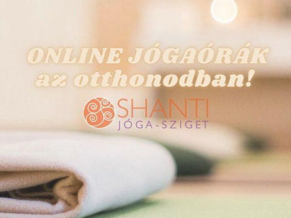 Online jógaórák a Shantin